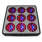 LED Black Starr chrome FSF(9-spot 400Watt)